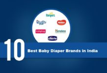 Top 10 Best Baby Diaper Brands list With Price Range & Where to Buy in India