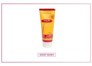 Patanjali Sun Screen Cream SPF30 Review