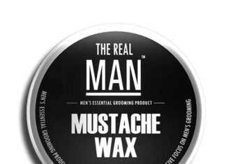 The Real Man Mustache Wax Review