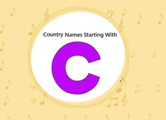 Country Names That Start with C