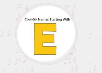 Country Names That Start with E