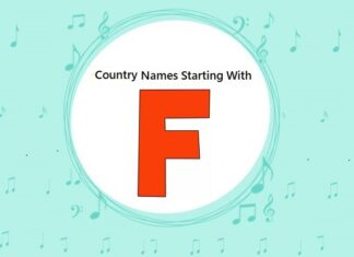 Country Names That Start with F