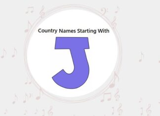 Country Names That Start with J