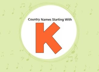 Country Names That Start with K