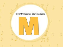 Country Names That Start with M