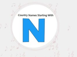 Country Names That Start with N
