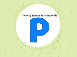 Country Names That Start with P