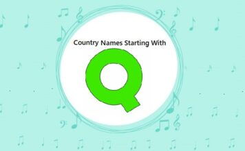 Country Names That Start with Q