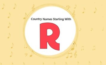 Country Names That Start with R