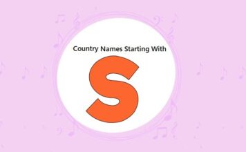 Country Names That Start with S