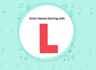 Bollywood Actors Names Starting with L