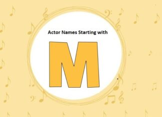 Bollywood Actors Names Starting with M