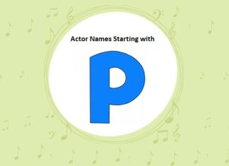 Bollywood Actors Names Starting with P