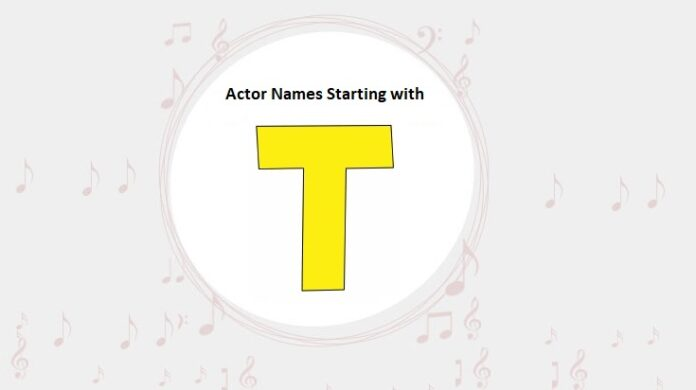 Bollywood Actors Names Starting with T