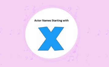 Bollywood Actors Names Starting with X