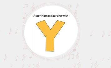 Bollywood Actors Names Starting with Y