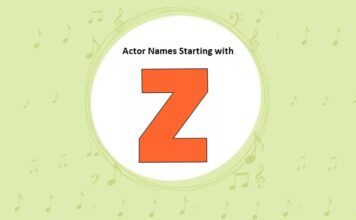 Bollywood Actors Names Starting with Z