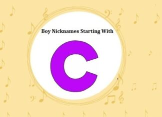 Baby Boy Nicknames Starting with C