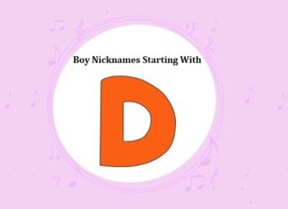 Baby Boy Nicknames Starting with D