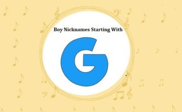 Baby Boy Nicknames Starting with G