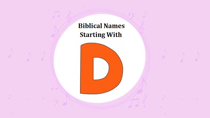 12+ Boy bible names with d info