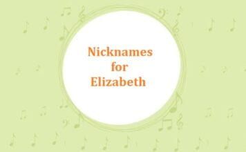 Nicknames for Elizabeth
