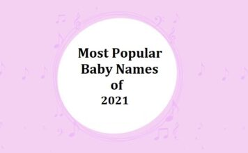 Popular Baby Names of 2021