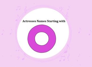 Bollywood Actresses Names Starting with O