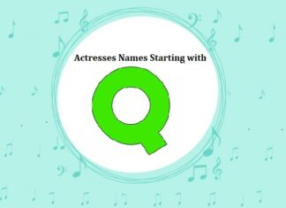 Bollywood Actresses Names Starting with Q