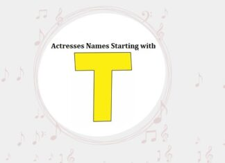 Bollywood Actresses Names Starting with T