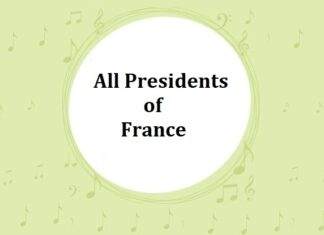 List of All Presidents of France