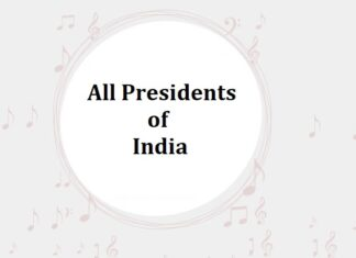 List of All Presidents of Inida