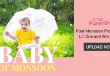 FirstCry Baby of Monsoon Contest