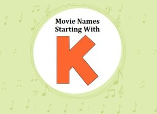 Bollywood Movie Names Starting With K