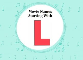 Bollywood Movie Names Starting With L