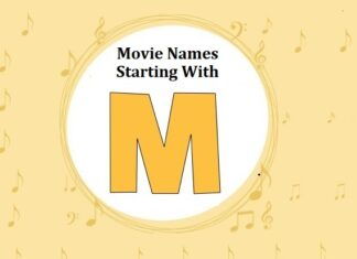 Bollywood Movie Names Starting With M