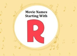 Bollywood Movie Names Starting With R