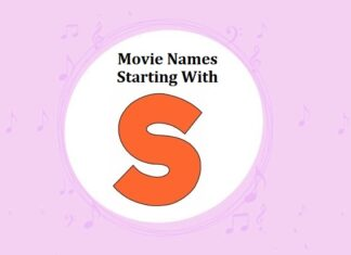 Bollywood Movie Names Starting With S