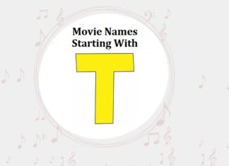 Bollywood Movie Names Starting With T