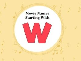 Bollywood Movie Names Starting With W