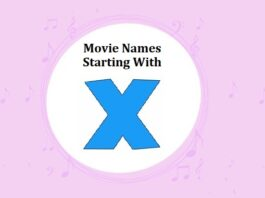 Bollywood Movie Names Starting With X