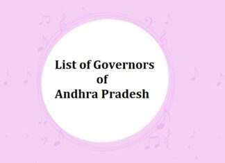 List of Governors of Andhra Pradesh