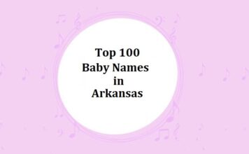Top 100 Baby Names in Arkansas with Meanings