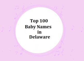 Top 100 Baby Names in Delaware with Meanings
