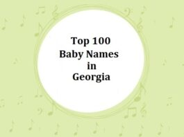 Top 100 Baby Names in Georgia with Meanings
