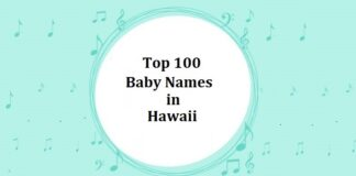 Top 100 Baby Names in Hawaii with Meanings