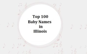 Top 100 Baby Names in Illinois with Meanings