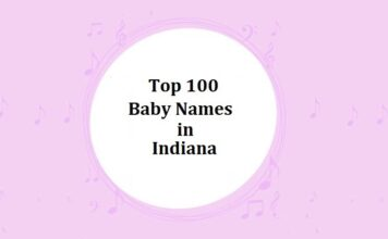 Top 100 Baby Names in Indiana with Meanings